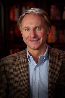 Photo of Dan Brown from http://danbrown.com/wp-content/themes/danbrown/images/db/slideshow/author/db.courter.02.jpg